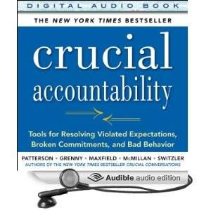 """Crucial Accountability kudos: """"The wisdom this book offers will not only save countless imperiled relationships, it will strengthen the world by profoundly strengthening its fundamental building blocks -- our families, neighborhoods, communities, and workplaces."""" --Stephen R. Covey (Order audiobook here: http://amzn.to/1BcrYuy)"""