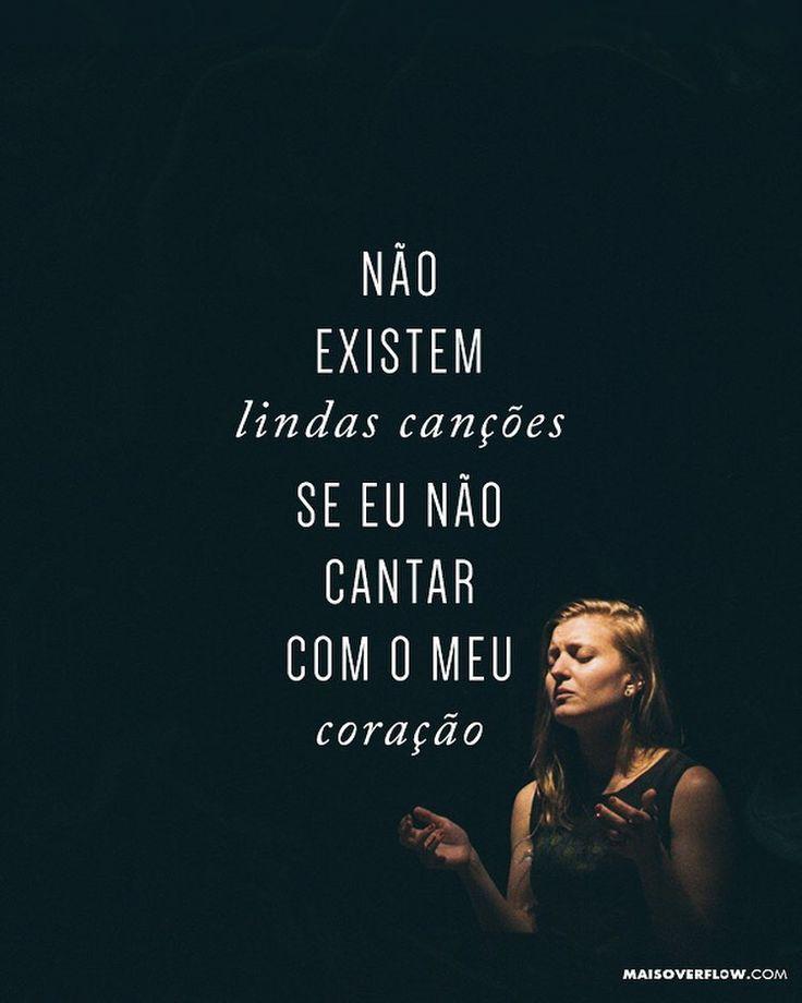 """""""não existem lindas canções se eu não cantar com o meu coração."""" - nada importa mais // @fabianokrehnke & @jaquelinekrehnke // #CéuseTerra () maisoverflow.com  X"""