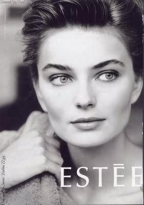 eliz vintage: Paulina Porizkova for Estee Lauder