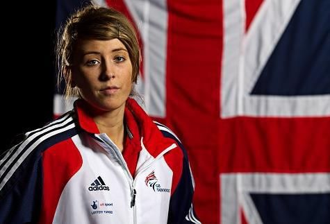 Jade Jones, Olympic Taekwondo Gold medallist, from Wales