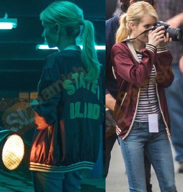 Get amazing low price! Film Nerve Vee Emma Roberts Red Jacket