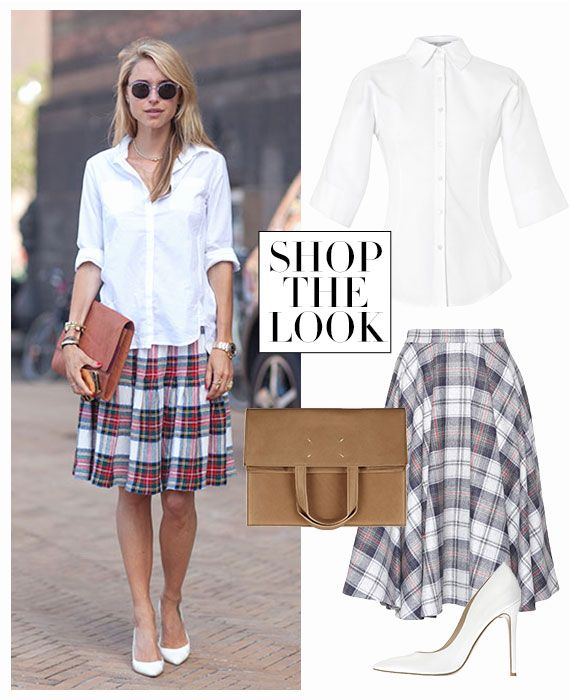 Shop the Street Style Look: School Girl Crush