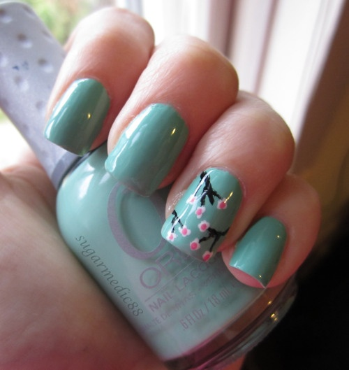 Best 25+ Cherry blossom nails ideas on Pinterest | Spring ...