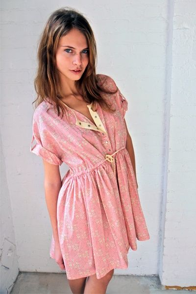 • SS10-88 Liberty Popover Dress