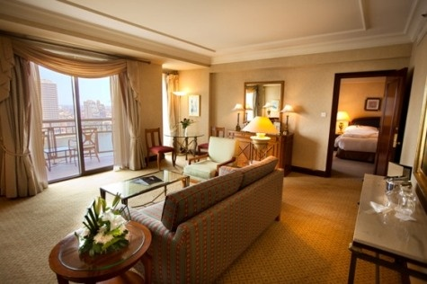 King Executive Nile View - Choose a spacious Executive Room at the Conrad Cairo hotel for panoramic views of the River Nile. Executive guests also enjoy complimentary access to the Executive Lounge.