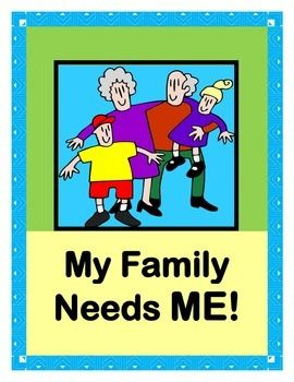 """At My House!"" – Group Game about Families Working Together – Teach (Thanksgiving & Family)"