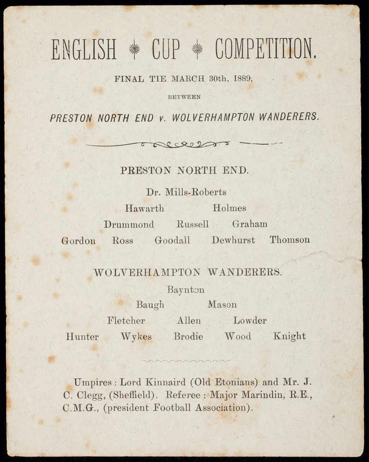 Historic Wolves FA cup final programme in £11,000 loss « Express & Star