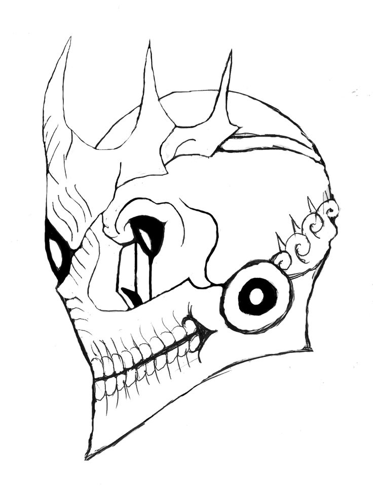 One-Eyed King Kakuja Mask