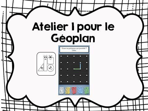 Géométrie: Décrire des quadrilatères et des polygones convexes et non convexes, comparer des angles – Les élèves utilisent le Géoplan (un vrai géoplan ou l'application Geoboard sur la tablette ou en ligne) pour construire des figures planes en respectant certaines contraintes.
