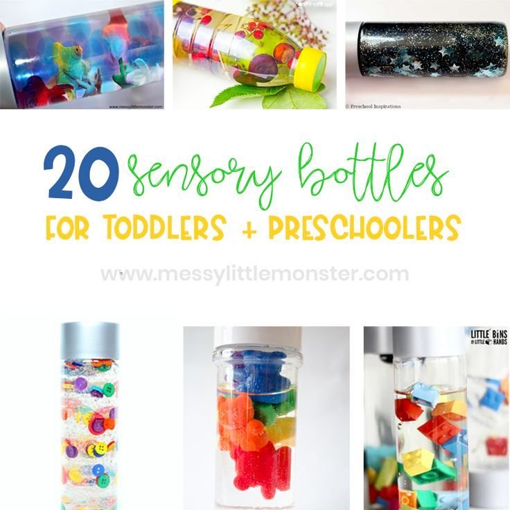 Sensory Bottles For Babies Toddlers And Preschoolers In 2020