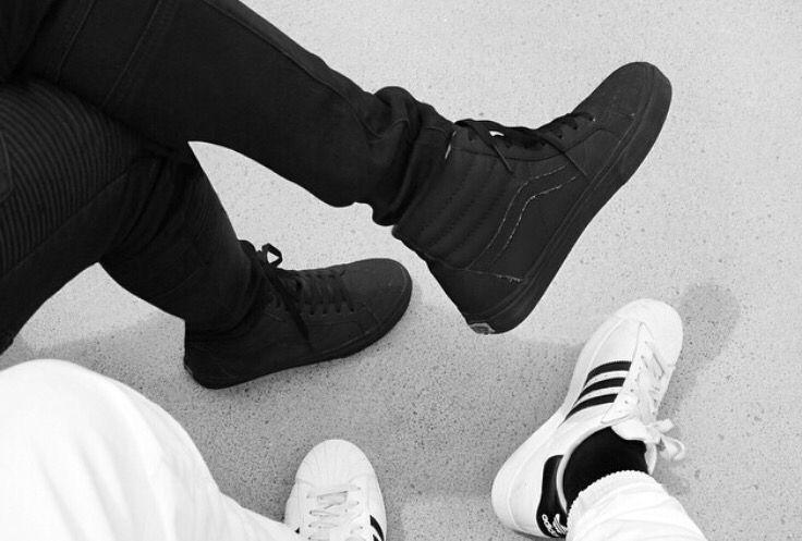 """Vans """" all Black """" Adidas """" Superstar """""""