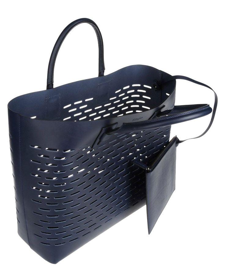 Handbag basket in blue by Zzegna. http://www.zocko.com/z/JJ6SI