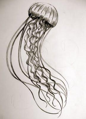 Jelly fish idea for a full back piece
