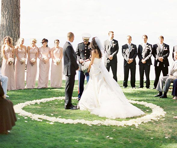 This Boldly Stepped Out Of The Typical Wedding Box And Decided To Have Their Ceremony