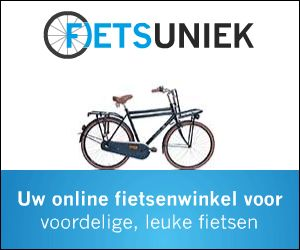 Voor Fietsuniek.nl is een kortingscode beschikbaar die klanten recht geeft op 10% korting op fietsmanden.  Kortingscode:DISCOUNTBASKET100 Omschrijving: 10% korting op fietsmanden Geldig: t/m 31-12-2014