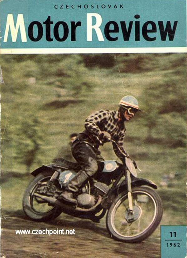 Moto Review magazine, Czechoslovakia - 1962