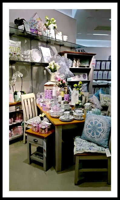 Mothers Day Inspired Homeware Display (2016)