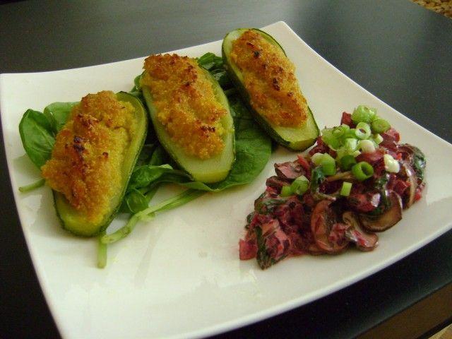 Zucchine ripene alla quinoa – Vegan blog – Ricette Vegan – Vegane – Cruelty Free