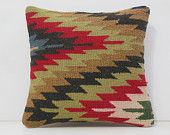 tribal pillow striped throw pillow bohemian pillow contemporary cushion knit pillow 16 primitive decor embroidered pillow 14552 kilim pillow