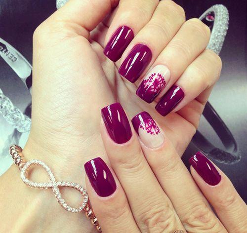 Diferentes diseños de uñas
