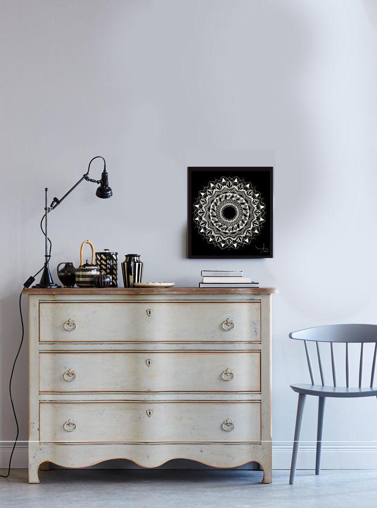 Mandala #2 -Kunstdruck/ Art Print/ Poster/ Home/ Malerei