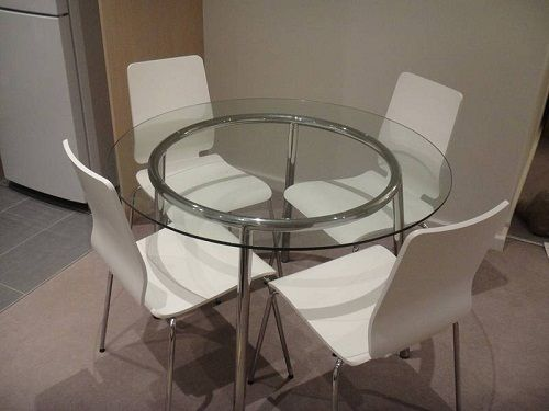 17 mejores ideas sobre Ikea Glass Dining Table en Pinterest ...