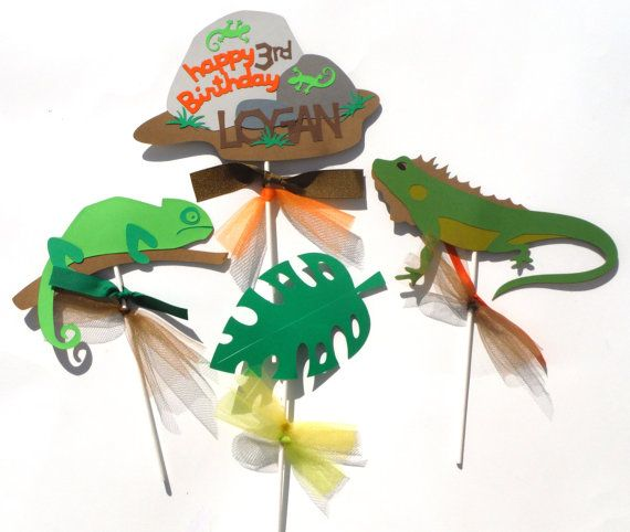 14 Best Images About Reptile Themed Party Decorations On