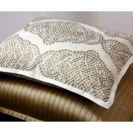 Ann Gish Infinity Bedding - Taupe