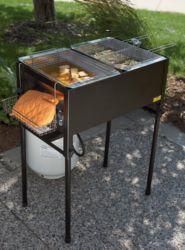 3-Basket Outdoor Propane Deep Fryer for $170 + free shipping | LavaHotDeals.com
