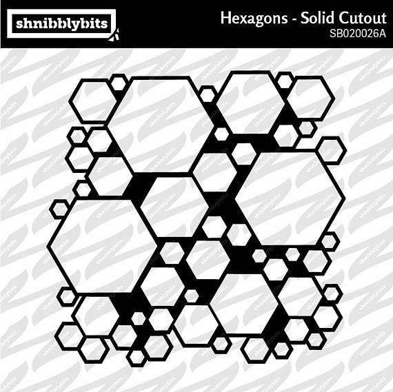 Hexagon Solid Cutout