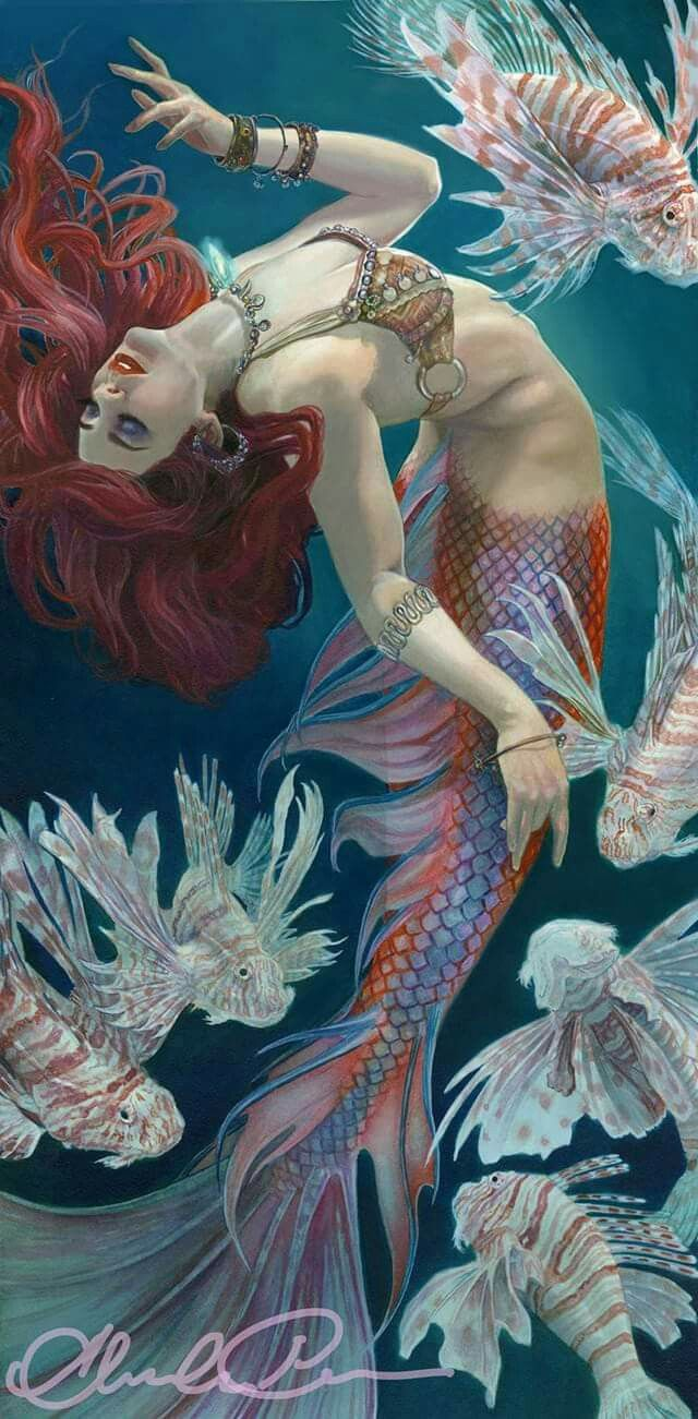 Mermaid. ❣Julianne McPeters❣ no pin limits