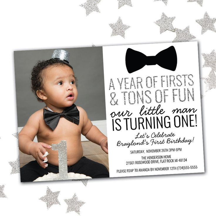 33 best Kids Birthday Party Invitations images – First Birthday Party Invitations Boy