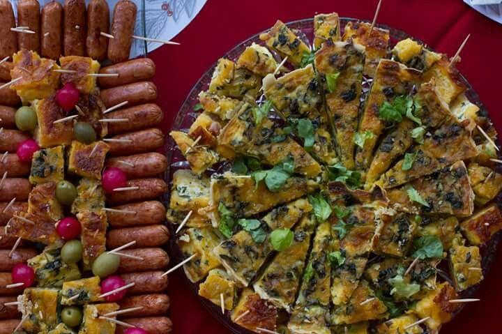 Savoury plates