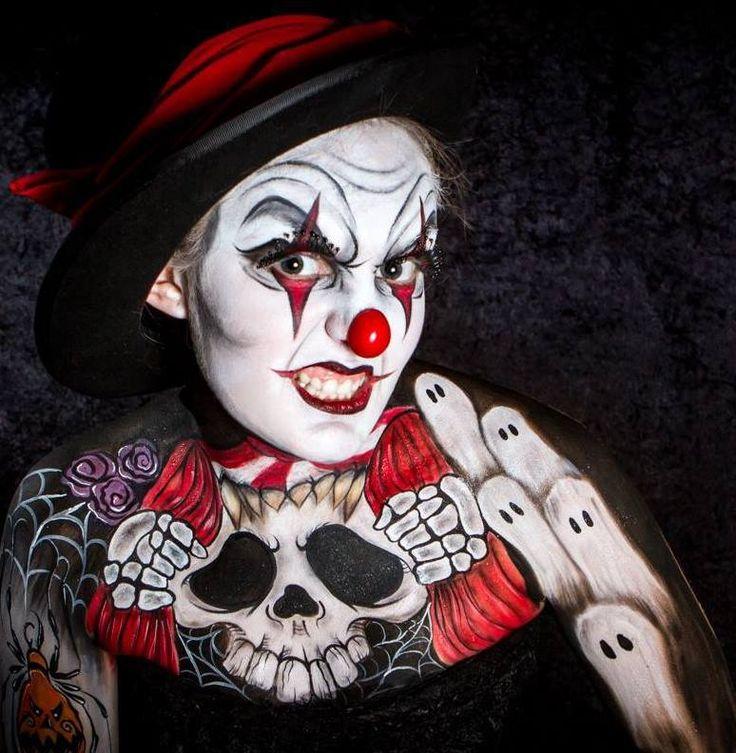 cute clown faces - 736×753