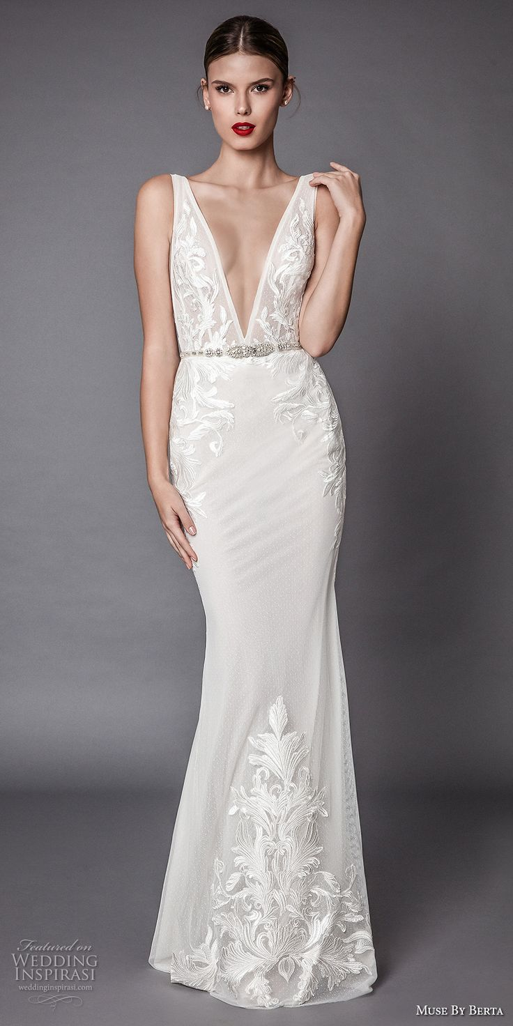 Deep Low Back Wedding Dress : Best images about muse by berta on