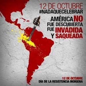 Dia de la resistencia indigena