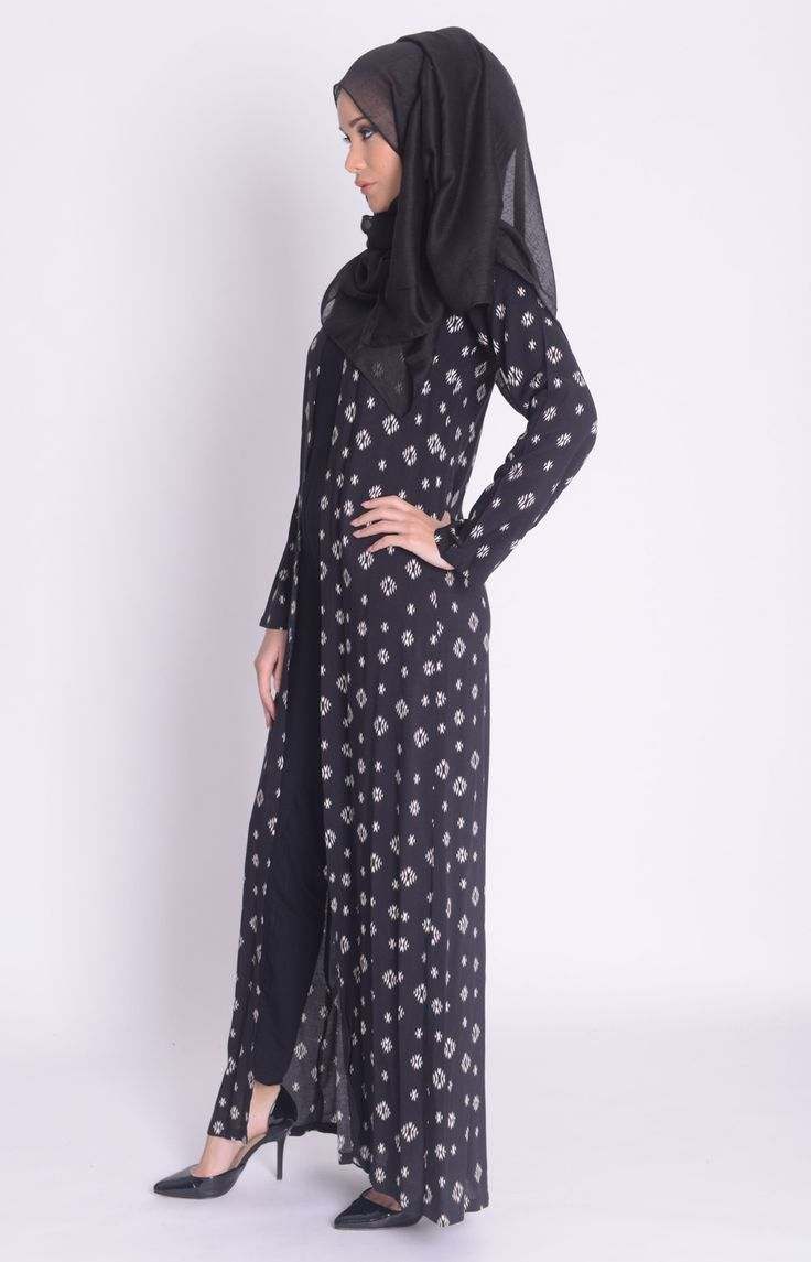 Exclusive designs of  abaya with heels ideas for smart women  (4)
