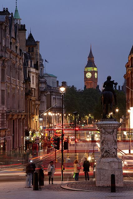 The Big Ben in London, England has always interested me and I wish to someday live near it. England is so beautiful, as I have visited twice before, and wish for it to someday be where I live.