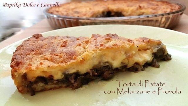 La Torta di patate con Melanzane e Provola è una torta rustica fantastica!!! I miei figli l'adorano e, proprio per questo, la preparo spesso per cena.