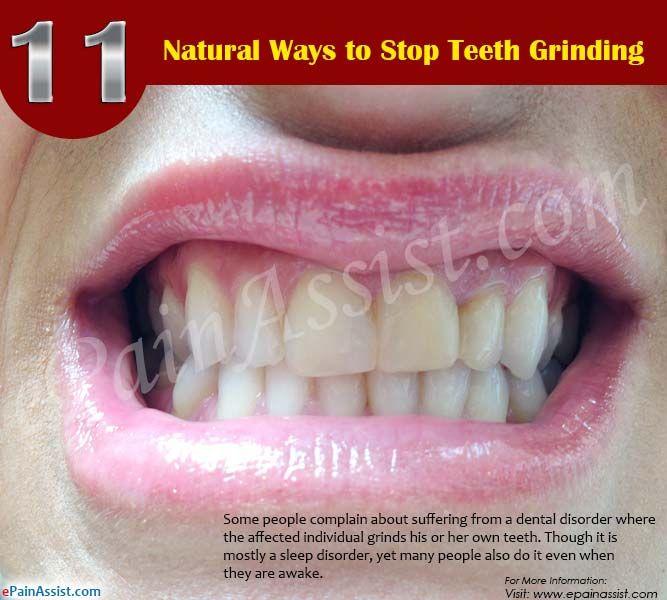 11 Natural Ways to Stop Teeth Grinding