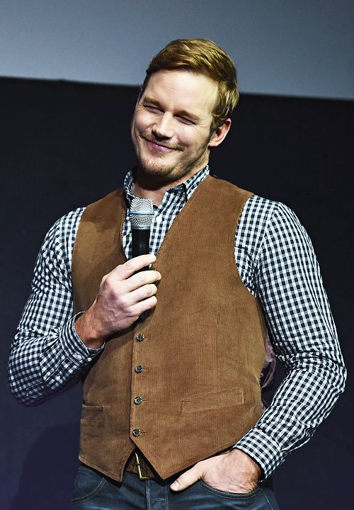 Chris Pratt speaks onstage during CinemaCon 2016 An Evening with Sony Pictures Entertainment: Celebrating the Summer of 2016 and Beyond at The Colosseum at Caesars Palace on April 12, 2016 in Las Vegas, Nevada.