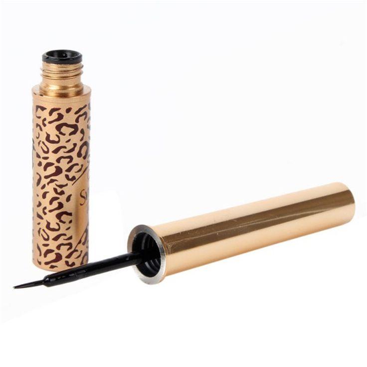 Luksusowe Nago Makijaż Wodoodporny Eyeliner Eye Liner w Płynie Leopard Najdrobniejszych Długopis