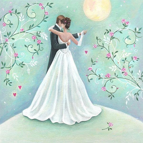 Рисунки свадьба открытки