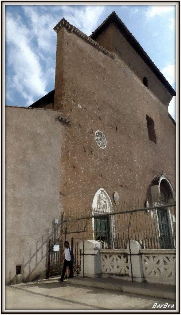 ... la  Basilica di Santa Maria in Aracoeli. http://ilmioblogdiprova.over-blog.it/2014/10/punti-di-vista.html
