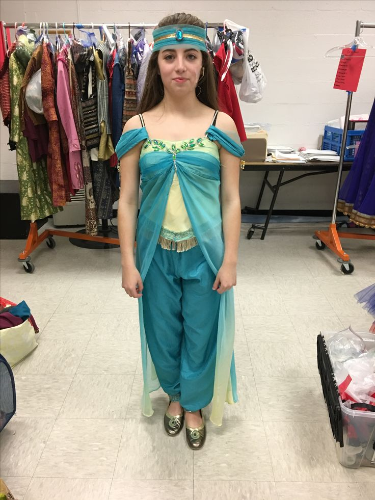 Aladdin Disney Jr - Jasmine's marketplace costume