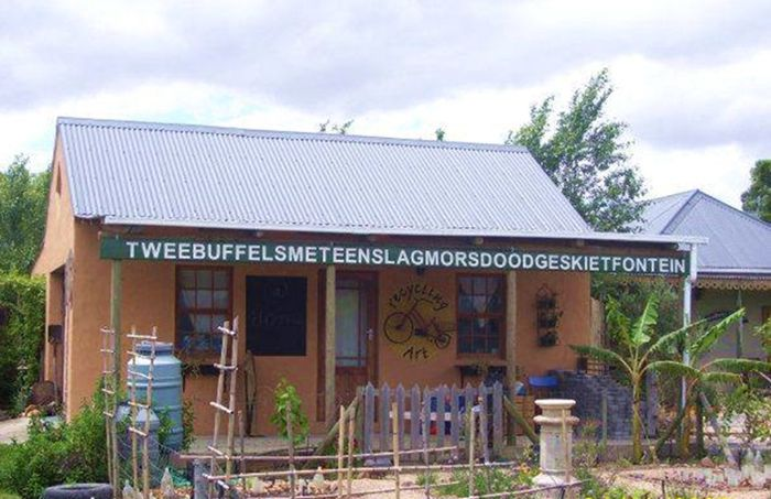 Die enigste foto van Tweebuffelsmeteenskootmorsdoodgeskietfontein