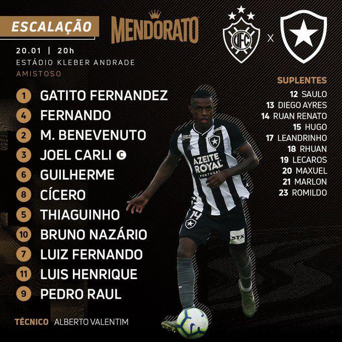 Https Globoesporte Globo Com Es Futebol Jogo 20 01 2020 Vitoria Es Botafogo Ghtml Botafogo Vitoria Es Globo Esporte