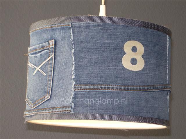 lamp babykamer jeans