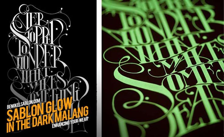 Jasa Sablon Glow In The Dark Malang | Jasa Sablon Kaos & Konveksi di Malang | Bengkel Sablon Kaos Malang http://bengkelsablon.com/sablon-malang/sablon-glow-in-the-dark/