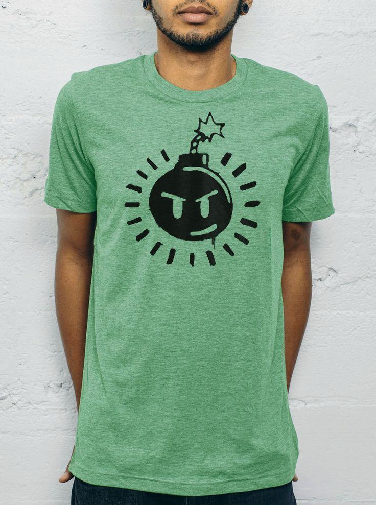 Mens Scott Pilgrim 'SexBoBomb' Bomb T-shirt